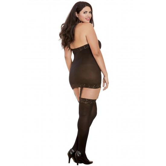 Σέξι ολόσωμη εξώπλατη φόρμα με δαντέλα