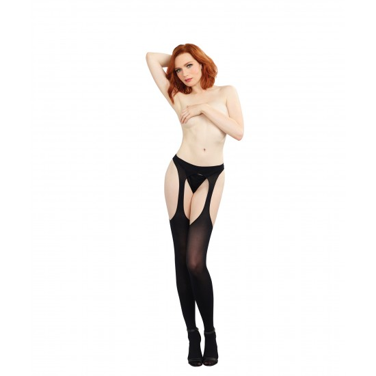 Σέξι ζαρτιέρες με ενσωματωμένες κάλτσες