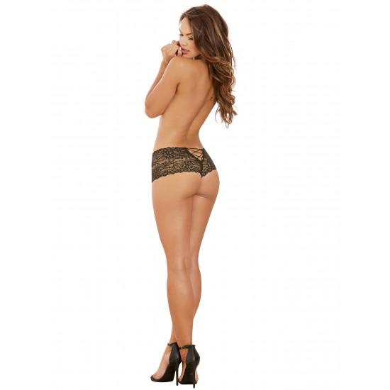Σέξι γυναικείο εσώρουχο boxer δαντέλα