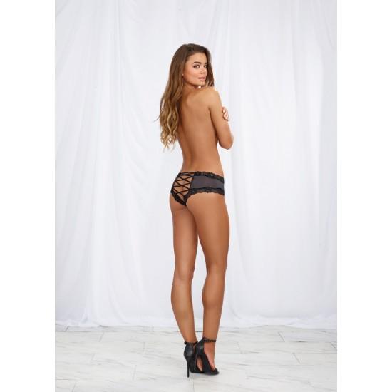 Σέξι γυναικείο εσώρουχο με λουράκια πίσω
