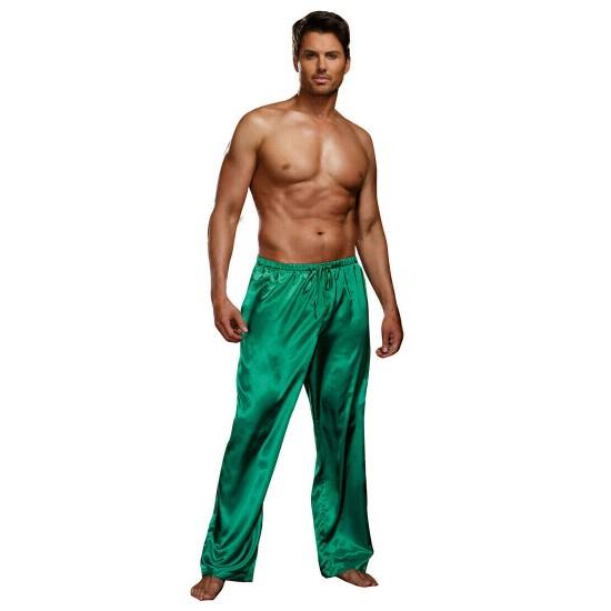 Ανδρική πιτζάμα παντελόνι σατέν