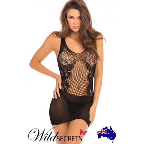 Σέξι γυναικείο μίνι φόρεμα χωρίς ραφές
