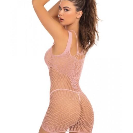 Σέξι γυναικείο διχτυωτό φόρεμα χωρίς ραφές