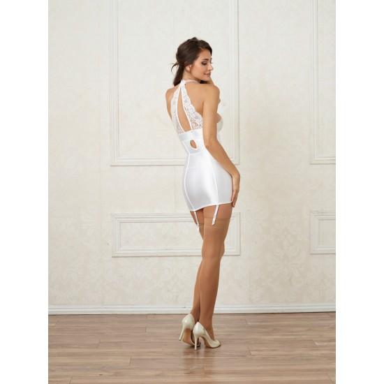 Σέξι εφαρμοστό φόρεμα κορσές με ζαρτιέρες