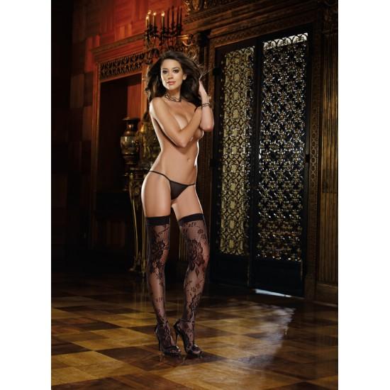 Σέξι γυναικείες κάλτσες δίχτυ με δαντέλα