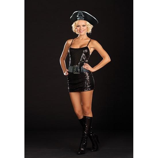 Γυναικεία στολή πειρατίνα (3 τεμάχια)