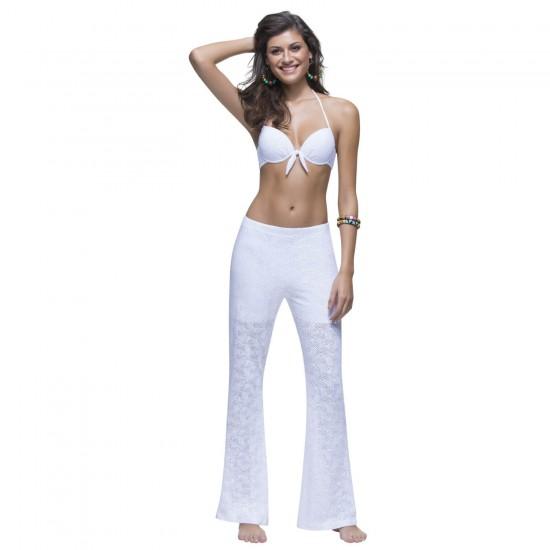 Γυναικείο παντελόνι πλεκτό εφαρμοστό