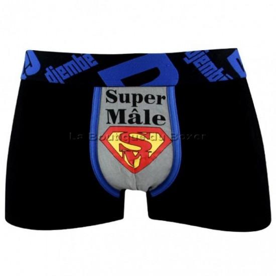 """Ανδρικό βαμβακερό μπόξερ """"Super Male"""""""